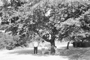 photograph of the family